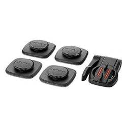 TomTom Supporto adesivo regolabile ad ogni angolazione per Bandit Action Camera, Nero