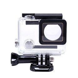 Newlemo Custodia Fotocamera Impermeabile Subacqueo Impermeabile Shell Antipolvere Macchina Fotografica di Sport Shell Accessori Custodia Protettiva pe