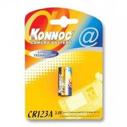Batterie al Litio per Fotocamere Batteria al Litio 3V CR123A IBT-KCR123A