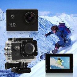 SPORT ACTION PRO CAM CAMERA FULL HD DV 1080p fotocamera VIDEOCAMERA SUBACQUEA GO
