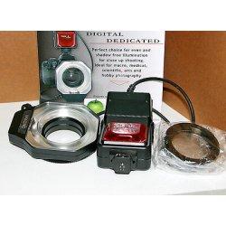 Flash anulare per fotocamere reflex Nikon - Macro circular ring flash for Nikon