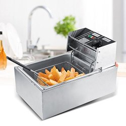 Yosoo Friggitrice Professionale Per Cucinare In...