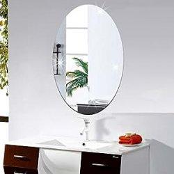 LifeUp- Specchio Adesivo da Parete, Adesivi...