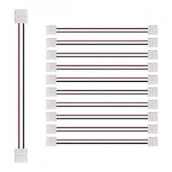 Connettore per bande LED monocolore con cavo set...