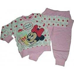 Pigiama lungo Disney Minnie pois (86-92 cm)