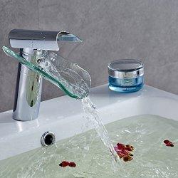 Auralum rubinetti bagno a cascata miscelatore...