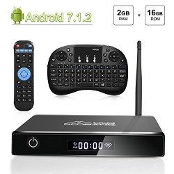 TV Box Android 7.1, [2G+16G] 2018 GooBang Doo...
