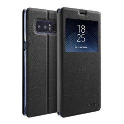 doupi Deluxe FlipCase con Finestra Samsung Note...