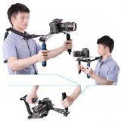 Neewer Pieghevole DSLR Rig Cinematografico Kit...