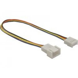 DeLOCK Cable Fan 4pin - cable interface/gender...