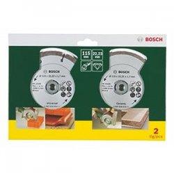 Bosch 2607019478 2 Dischi Diamantati...