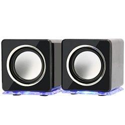 Incutex - Casse con LED colorati, altoparlanti...