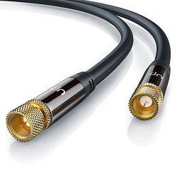 CSL - 2m cavo per antenna HQ SAT Premium 135dB /...