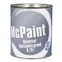 McPaint, Vernice antiruggine, colore Grigio, 0,75...