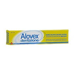 Alovex Dentizione Gel Sollievo Primi Denti