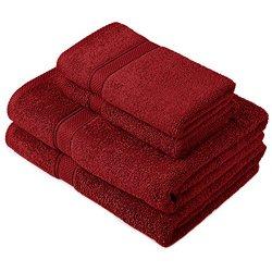 Pinzon by Amazon - Set di asciugamani in cotone...