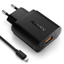 AUKEY Quick Charge 3.0 Caricabatteria per Muro...