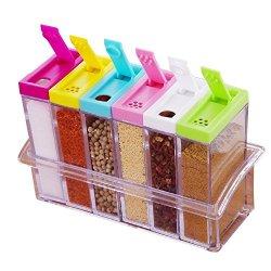 Xuanlan 6 pezzi Condimento Box Set Bottiglie...