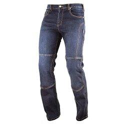 Pantaloni Moto Jeans Mesh Tessuto Cordura Traforato Estivo Protezioni CE Uomo 40