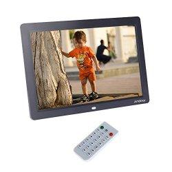 Andoer 12 Cornice Foto Digitale HD LCD per Musica...