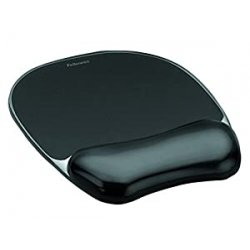 Fellowes 9112101 Mousepad con Poggiapolsi Crystal...