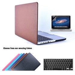 Custodia MacBook Pro 15 Retina in Pelle, TECOOL...