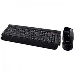 LogiLink Wireless Luxus Combinazione tastiera +...