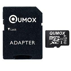 QUMOX 128GB Scheda memoria MICRO SD MEMORY CARD...