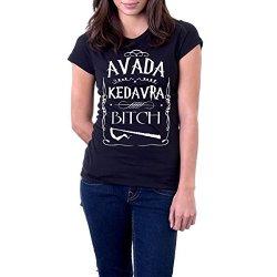 t-shirt NERA humor mago - formula magica,...