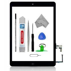 Schermo tattile di ricambio per iPad AIR Nero...