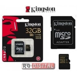 Scheda memoria Kingston 32 GB micro SD HC...