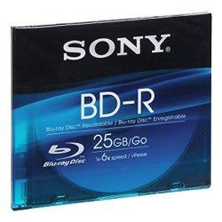 Sony BD-R 25GB BNR25SL Blu-ray registrabile...
