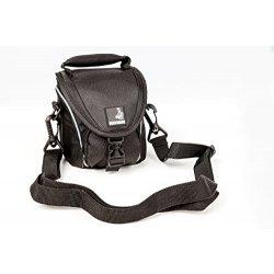 BODYGUARD 5* borsa nera per fotocamera adatta a...