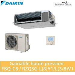 Daikin GAINABLE alta pressione, modello FBQ125C8...