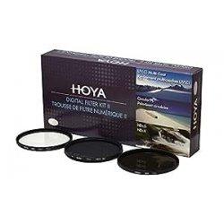 Hoya DFK58 filtri camera (UV,PLC,ND) - 58mm, set...