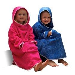 TowelsRus - Accappatoio tipo poncho con cappuccio...