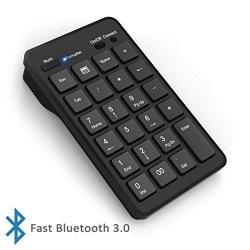 Tastierino numerico wireless Bluetooth Cateck a...