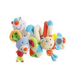 TOYMYTOY Spirale attività giocattolo culla...