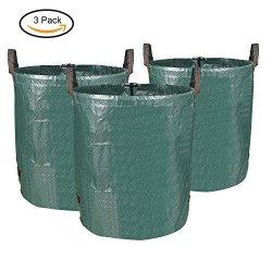 MVPOWER 3x 272L sacchi per i rifiuti da giardino...