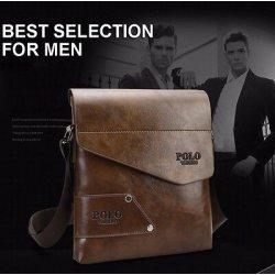 Borsello tracolla pelle uomo-vintage style -...