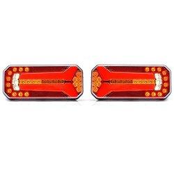 2x LED luce posteriore con dinamica di segnale...