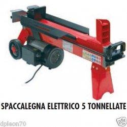 SPACCALEGNA ELETTRICO 5 TONNELLATE ciocchi...