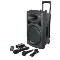 Ibiza Port10VHF-BT-WH Impianto audio portatile...