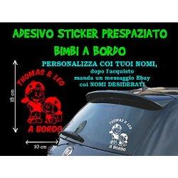 STICKER STICKERS ADESIVI ADESIVO BIMBI BIMBO...