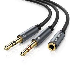 UGREEN Cavo Audio Microfono Cuffie, Cavo Audio 2...