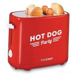 Macchina per Hot Dog 750 watt Rosso - Beper 90.488