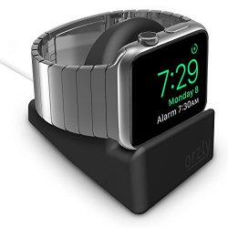 Orzly Night-Stand for Apple Watch - NERO Supporto...