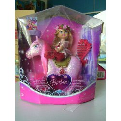 BARBIE IL CASTELLO DEI DIAMANTI PONY ROSA