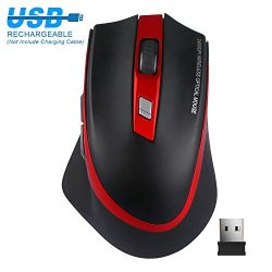 TedGem Mouse Wireless Ricaricabile, Mouse...
