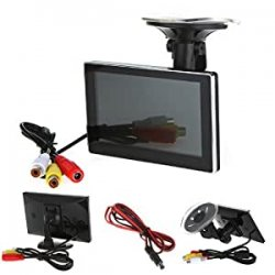 "Andoer 4.3 ""a colori TFT LCD Car Rearview..."